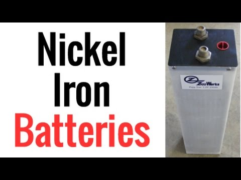 Nickel Iron Batteries