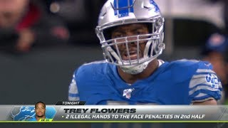 Terrible 2nd Half Officiating Gifts Packers Win Over Lions | NFL