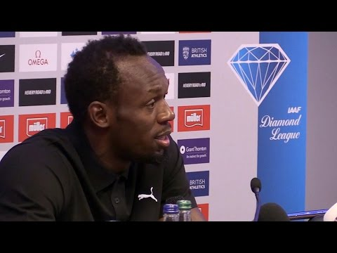 Usain Bolt Gives His Thoughts On Jose Mourinho & Says He's Waiting For Him To Call After Olympics