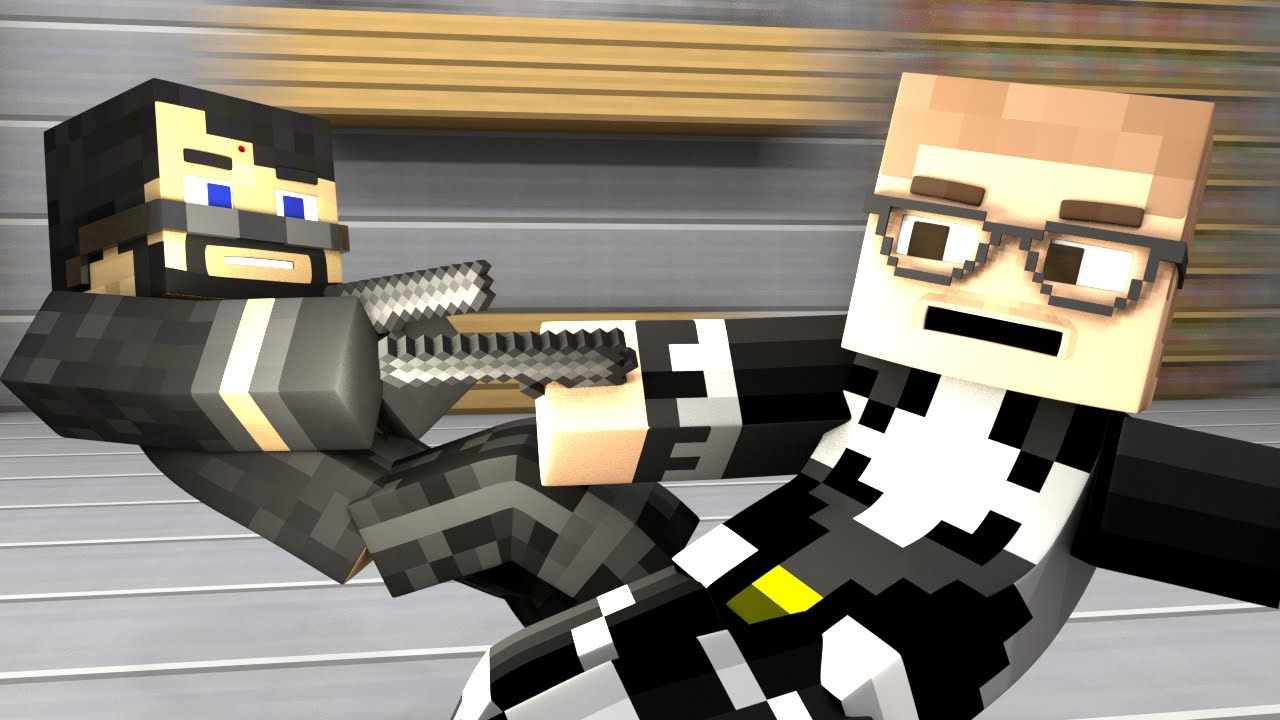 SECRET AGENT FAIL (Minecraft Animation)