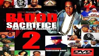 BLOOD SACRIFICE FOR FAME FORTUNE & FREEMASONRY 2 (DVD) feat Professor Griff (HQ)