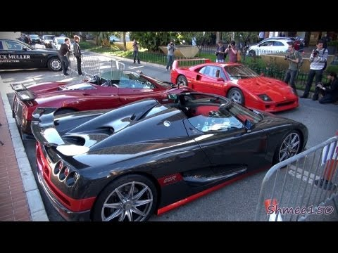 Supercar Insanity - Monaco at its Very Best