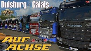 ETS2 I Multiplayer Euro Server 2 ★ Duisburg - Calais ★ #559 LIVE-Tour [Deutsch/HD]