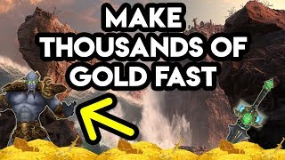 World Of Warcraft Gold Farm Make Thousands Of Gold Fast