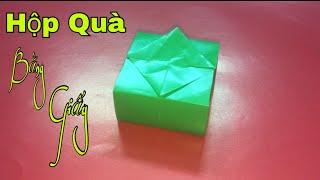 Cách gấp hộp quà bằng giấy cực đẹp