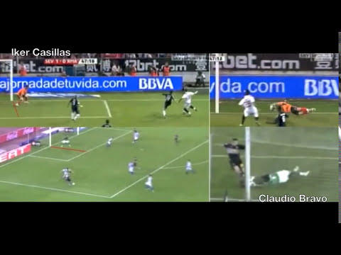 Iker Casillas VS Claudio Bravo (SuperParadón)