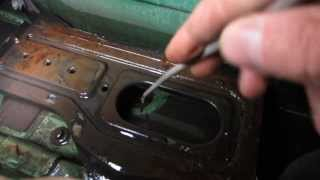 Unclog Audi A4 b5 water drain | cause of wet floor