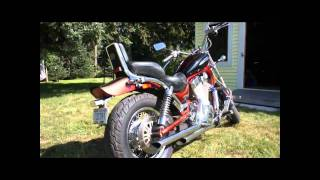 Suzuki Intruder 1400 - Cobra Drag Pipes Exhaust - With Baffles