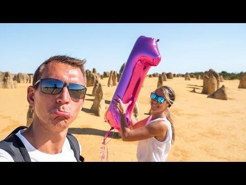 Australien Geburtstags Fail • Pinnacles, Lancelin & Camping • Weltreise | VLOG #401