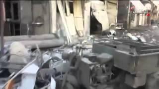 النظام يستهدف حي المزة والمهاجرين وسط دمشق بالصواريخ