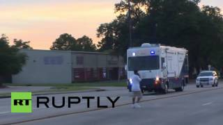 USA: Baton Rouge on lockdown after three policemen shot dead