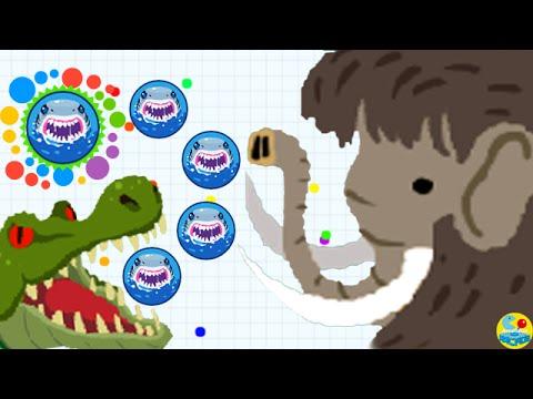 Agario Team Up With ArcadeGo Pro Team Mammoths Skin! (Agar.io Funny Moments)