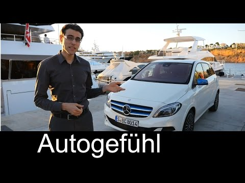 2015 all-new Mercedes B-Class Electric Drive REVIEW test drive B-Klasse (cirrus white) - Autogefühl
