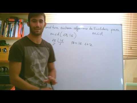 Algoritmo de Euclides / Euclide's Algorithm