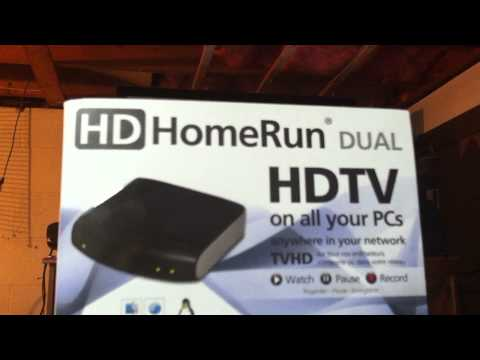 Free OTA TV using Windows Media Centre and HD Homerun Tuner (Part 1)