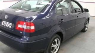 2005 Volkswagen Polo 9N Classic Blue 5 Speed Manual Sedan