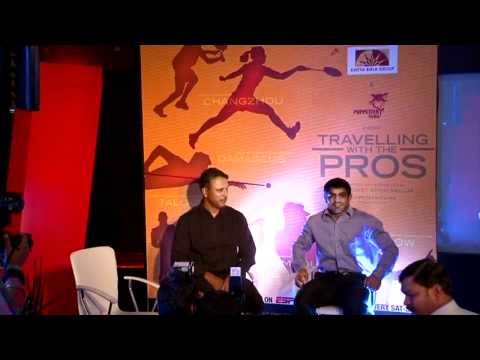 Travelling With The Pros - Press Conference, Delhi (With Jeev Milkha Singh and Sushil Kumar)