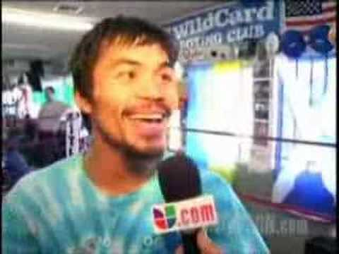 Pacquiao Sings Mexican National Anthem  Canta Hymno Nacional video