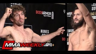 UFC 239 Official Weigh: Ben Askren vs. Jorge Masvidal