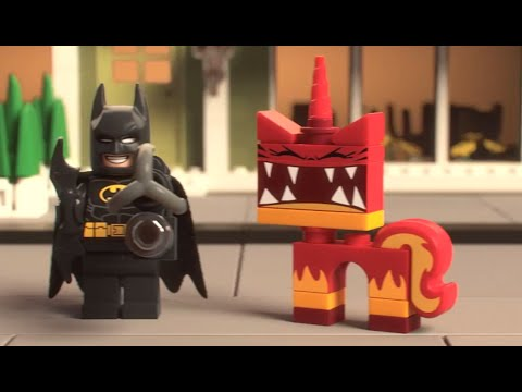 The lego movie new batman super angry kitty attack - Super batman movie ...