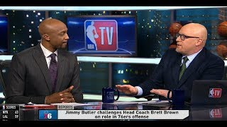 GameTime - Jimmy Butler challenges Brett Brown on role in 76ers offense