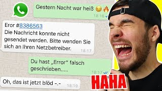 Die LUSTIGSTEN WhatsApp Fails in CHATS 🤣