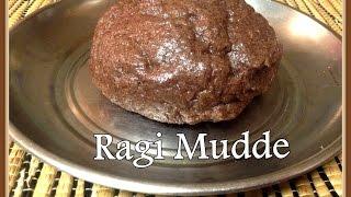 Ragi Mudde In Easiest Way / Finger Millet Ball (ರಾಗಿ ಮುದ್ದೆ)