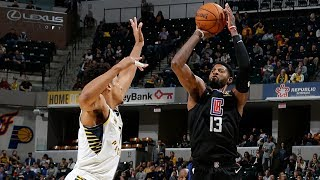 Paul George 36 Points vs Pacers! 2019-20 NBA Season