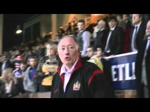 NOTE: No Comment Expressed On This Video is One Of My Opinion:) 2010 Grand Final Eliminator - Wigan Score a Great Try from Martin Gleeson as The Game comes t...