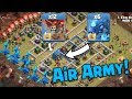 Max Electro Dragon Max Balloon Attack | New Air Army 3 Star War Attack TH12 | Clash Of Clans war