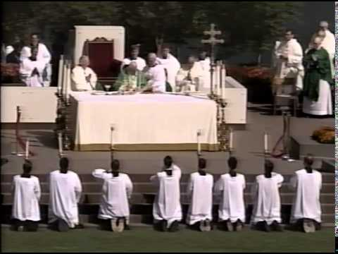 Pope John Paul II Visit to Baltimore in 1995
