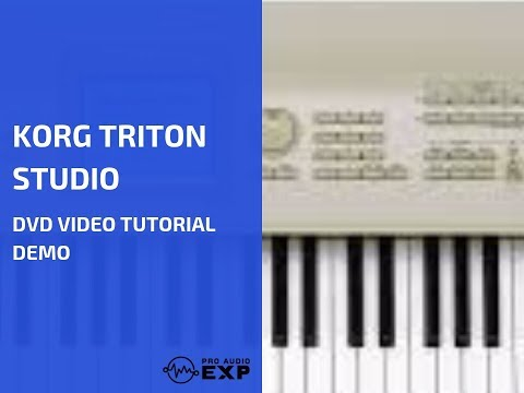 Korg Triton Studio DVD Video Tutorial Demo Review Help