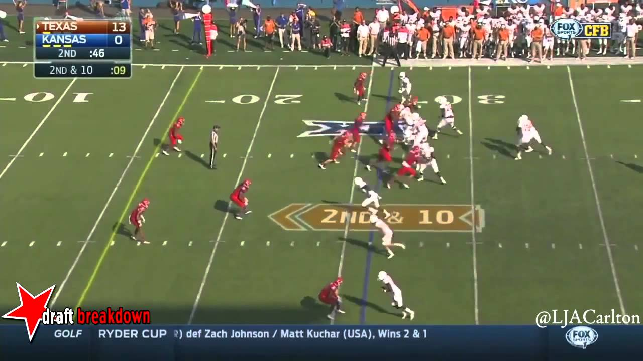 Ben Heeney vs Texas (2014)