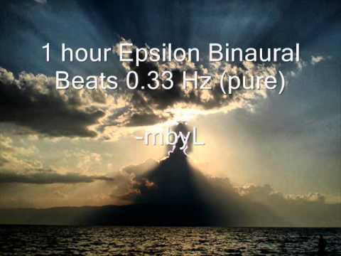 "1 hour Epsilon Binaural Beats 0.33 Hz (pure) - ""Ultra Deep Consciousness Experience"""