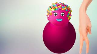 Learn Colors With Pop Cake Balloons Blasting Nursery Rhymes For Kids Videos