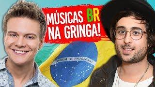 7 Músicas BR que BOMBARAM na GRINGA! 🎶 ➡ 🇺🇸 (ft. Zeeba)