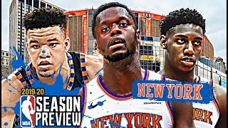 New York Knicks NBA Season Preview: R.J. Barrett | Julius Randle | Kevin Knox [2019-20]