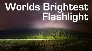 1000W LED Flashlight - Worlds Brightest (90,000 Lumens)