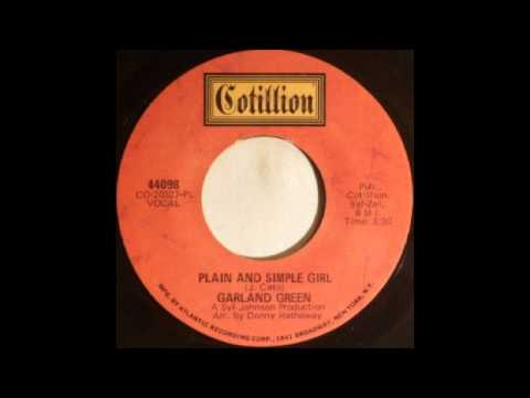 Garland Green - Plain And Simple Girl video