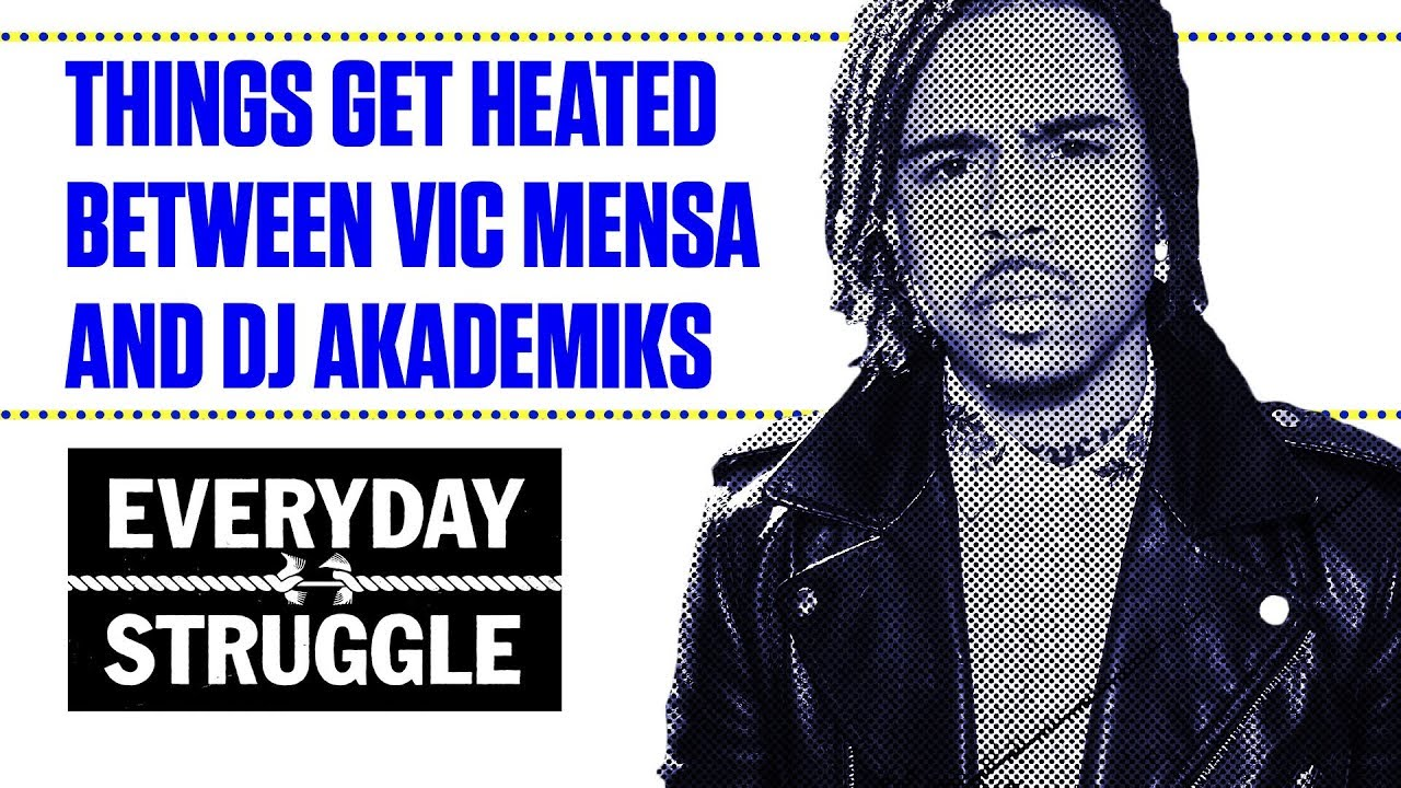"Vic Mensa Calls Dj Akademiks A ""B*tch"" And Threatens To Slap Him In His Face For Making Satire Of Deaths In Chicago!"