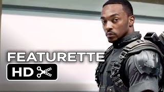Captain America: The Winter Soldier Featurette - Conspiracy (2014) - Anthony Mackie Movie HD