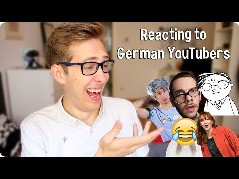 American Reacts to German YouTubers