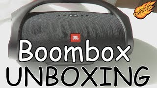 Unboxing the JBL Boombox and first impressions!