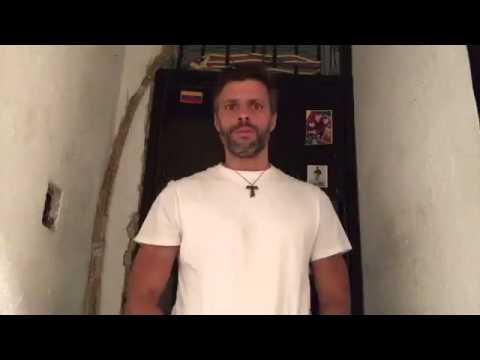 ¡IMPERDIBLE! Video con mensaje de Leopoldo López desde la cárcel