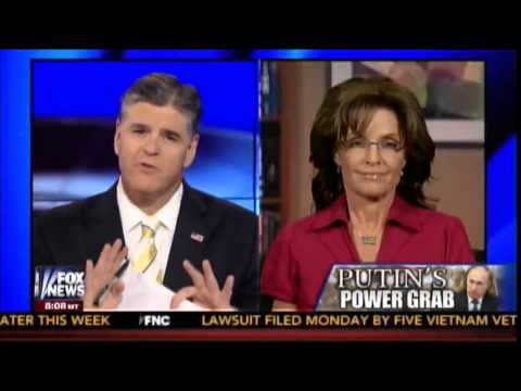 Gov. Sarah Palin and Sean Hannity discuss Ukraine 3-3-2014