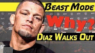 Nate Diaz Punks UFC & Dana White at Press Conference [Like a Boss!]