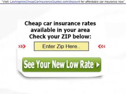Los Angeles Car Insurance | Get BIG Discounts On Your Car Insurance In Los Angeles - today