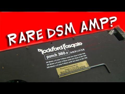 Rockford Fosgate Punch 360 6 DSM Amp - Rare? Prototype?