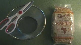 Holistic Health Talk-How to Make Cream of Organic Whole Grain Hot Cereal From Scratch