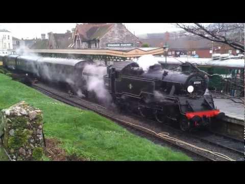 Swanage Steam Railway 2013 - BR Standard Class 4 80104
